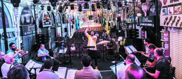 Un festival de musique fait résonner le patrimoine d'Istanbul