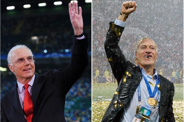 "Bienvenue au club !"", lance  Beckenbauer à Deschamps"