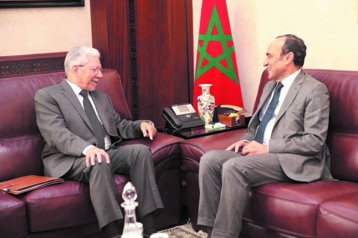 Le président de la Chambre des représentants s'entretient avec Taïeb Baccouche