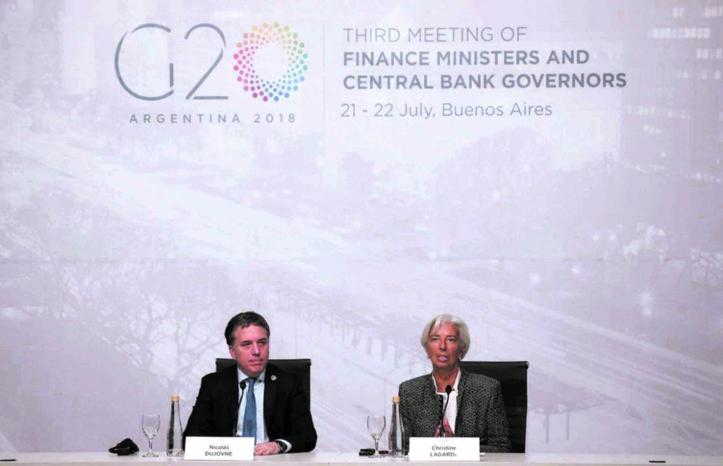 Le bras de fer commercial perdure lors du G20