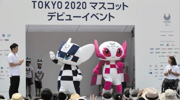 Tokyo baptise les mascottes futuristes des JO 2020