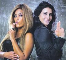 Asmaa Khamlichi et Amal Bent dans une série policière