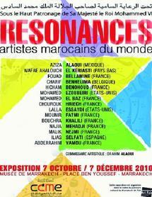 """Le Conseil de la communauté marocaine à l'étranger au «Marrakech Art fair» : """"Résonances"""" d'artistes marocains du monde"""