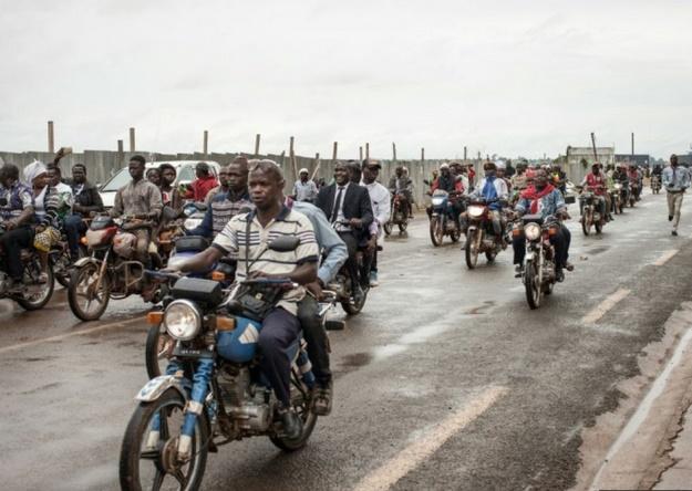 Les moto-taxis de Bangui sur la sellette