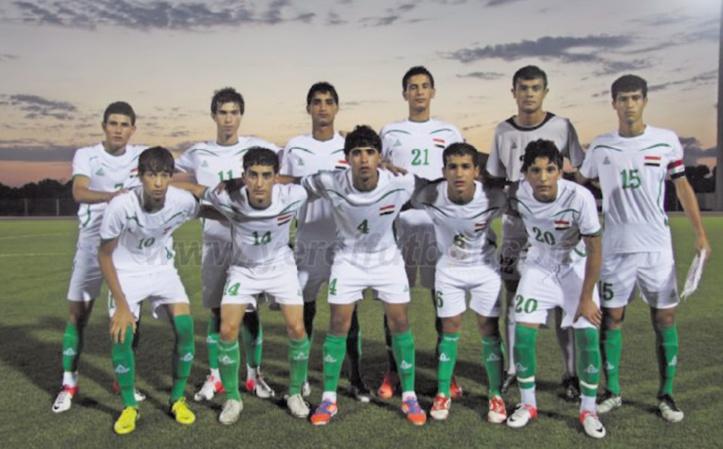 En Irak, l'équipe de foot des moins de 16 ans avait dépassé l'âge