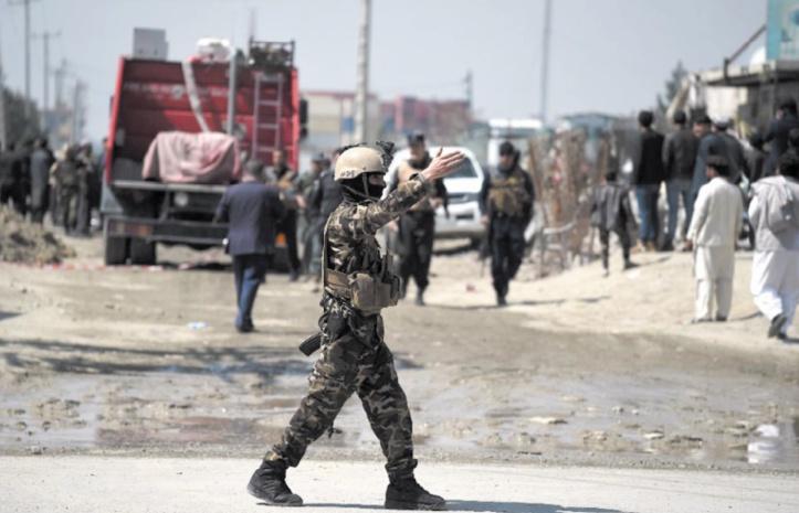 Face aux attentats, l'armée afghane déployée à Jalalabad