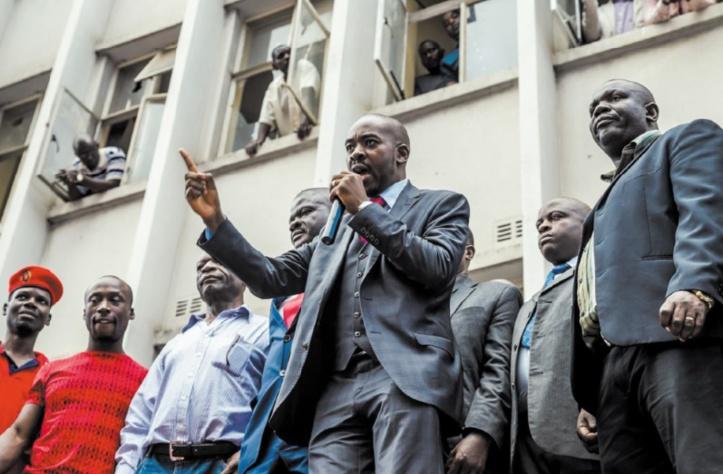 L'opposant Chamisa rejette la victoire de Mnangagwa à la présidentielle zimbabwéenne