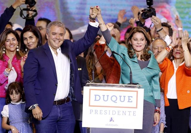 Habib El Malki représente S.M le Roi  à l'investiture du Président colombien