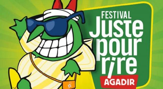 """Nouvelle édition du Festival """"Juste pour rire"""" à Agadir"""