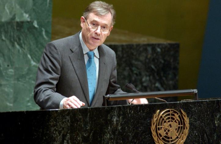 Le briefing de Köhler l'envoyé personnel du secrétaire général de l'ONU pour le Sahara rend compte au Conseil de sécurité de sa tournée dans la région