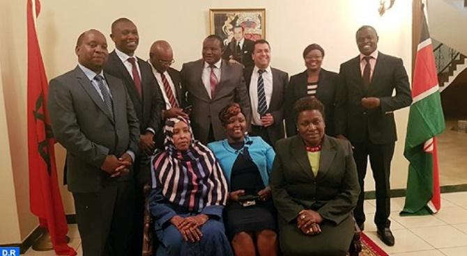 Création d'une commission parlementaire mixte maroco-kényane