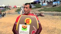Le bodyboarder marocain Brahim Iddouch s'illustre en Australie