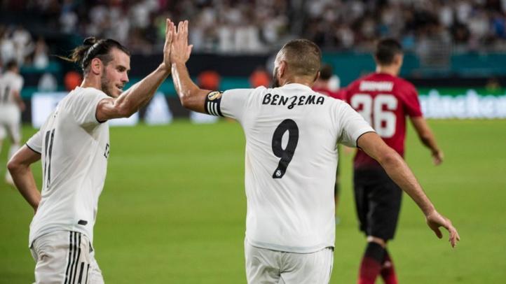 Le Real enchante, l'Atlético déchante avant la Supercoupe
