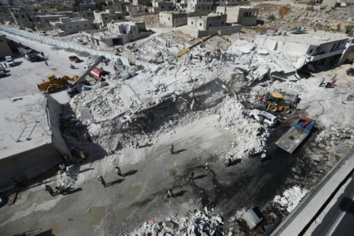 12 civils tués dans l'explosion d'un dépôt d'armes dans la province syrienne d'Idleb
