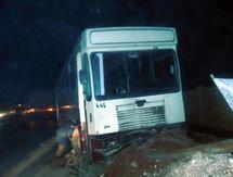 12 blessés dans un accident de bus à Fès : Bilan de la semaine: 16 morts