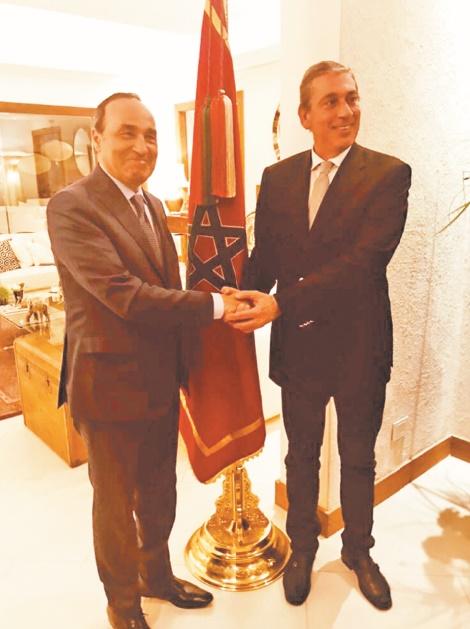 Habib El Malki s'entretient avec le président du Parlasur…