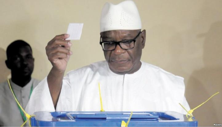 Le président malien Ibrahim Boubacar Keïta réélu pour un second mandat
