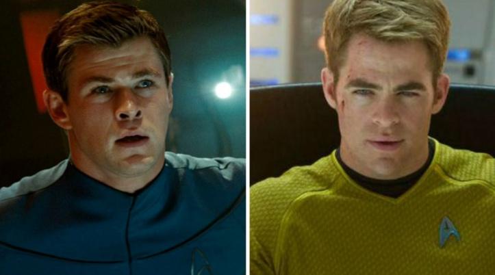 Chris Pine et Chris Hemsworth quittent Star Trek