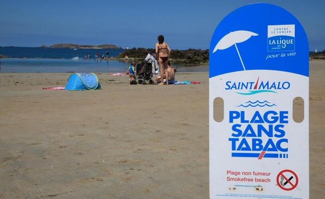 Des plages françaises expérimentent les vacances sans tabac