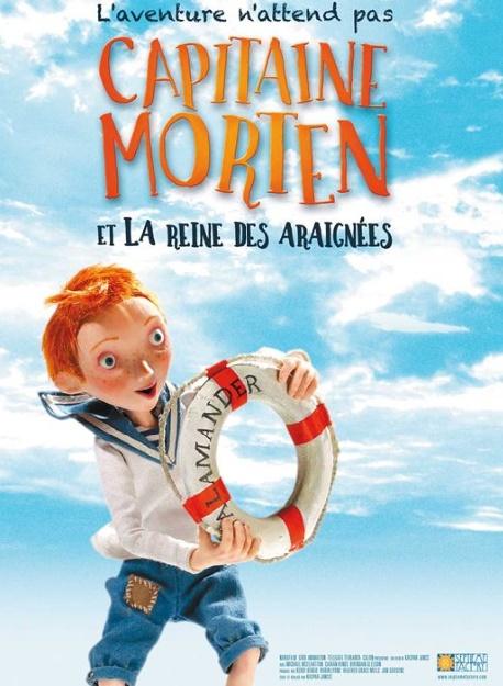 """""""Capitaine Morten et la reine des araignées"""" Un film d'animation poétique"""