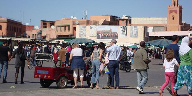 Marrakech enregistre une hausse des  nuitées touristiques au premier semestre