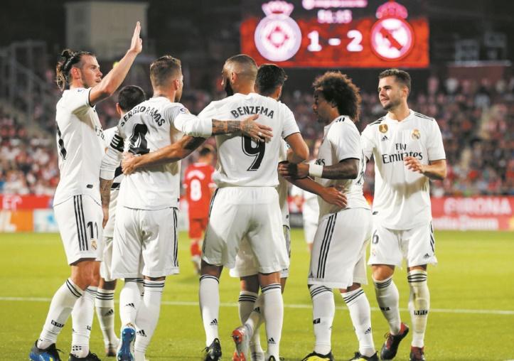"""Sans Ronaldo, le Real se découvre un trio """"BBA"""""""