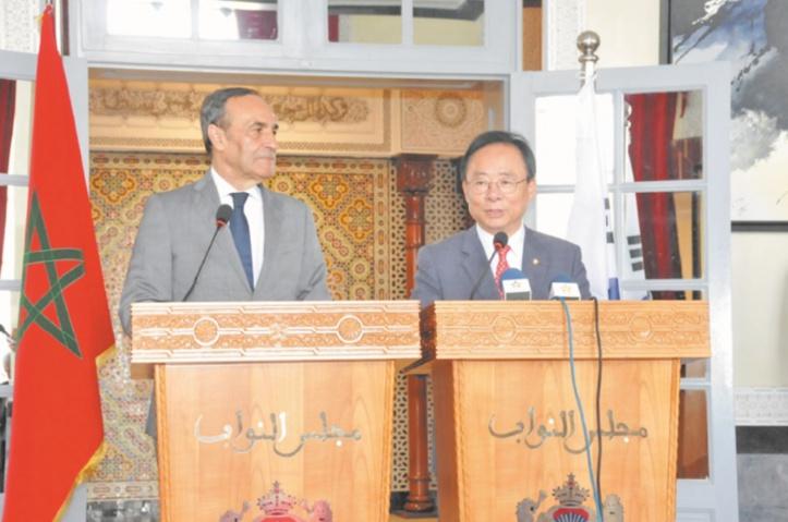 La consolidation de la coopération maroco-sud coréenne examinée à Rabat : Habib El Malki s'entretient avec Lee Ju-Young