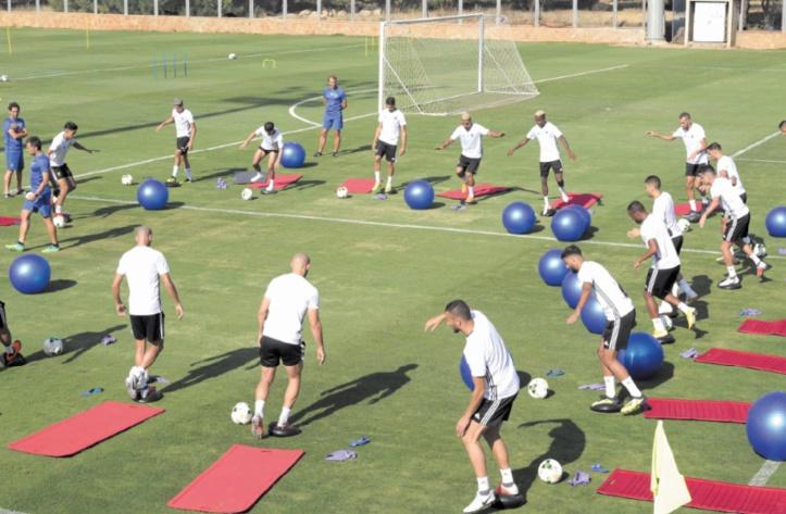 Le Onze national poursuit sa préparation à Rabat avant de rejoindre Casablanca