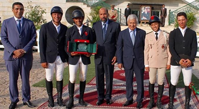 Ali Al Ahrach remporte le GP de S.M le Roi Mohammed VI