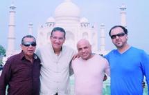 Haj Younès, Karim Qamari, Amir Ali et Hassan Bacha, un quartet qui a fait sensation en Inde