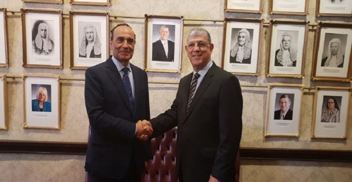 Habib El Malki s'entretient avec le président du Conseil législatif de la Nouvelle-Galles du Sud