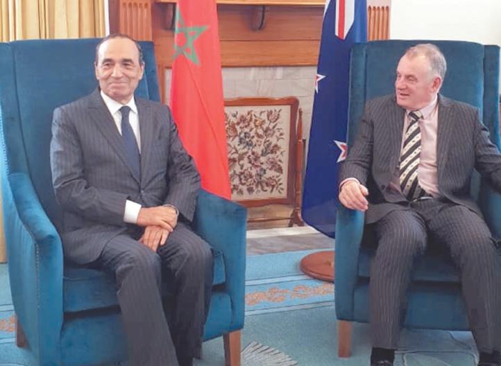 Intenses activités de Habib El Maliki à Wellington