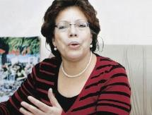 Fatima Maghnaoui, coordinatrice de la commission de l'organisation du 6ème Congrès de la femme Ittihadia
