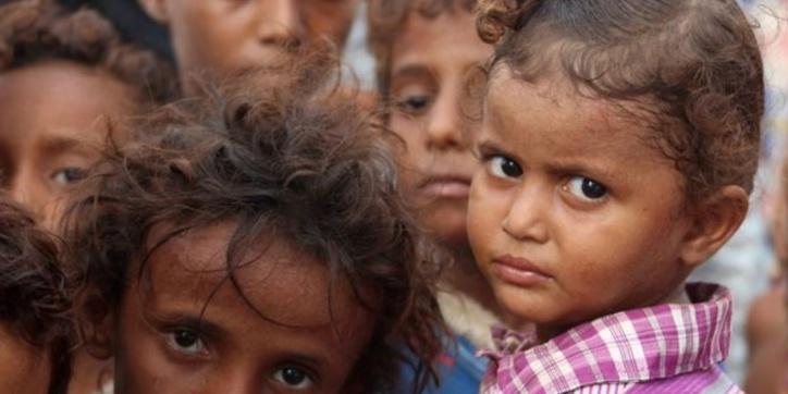 Plus de cinq millions d'enfants menacés de famine au Yémen