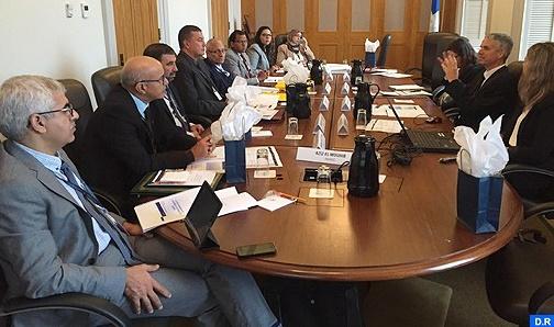 Visite d'étude d'une délégation parlementaire au Canada : La démocratie participative  au centre du programme