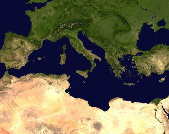 Solidarité, démocratie et droits de l'Homme en Méditerranée : Des principes pour la plitique méditerranéenne de l'Europe
