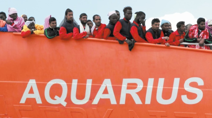L'Aquarius demande à la France un feu vert humanitaire