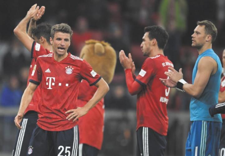 Bundesliga : Le Bayern puni pour son manque de réalisme