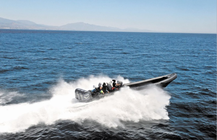 La Marine Royale tire sur un «go fast» de migrants clandestins