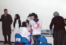 Campagne médicale à l'arrondissement du Méchouar : Des médicaments et des livres en faveur des enfants