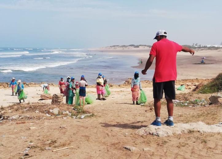 Trail Beach Sidi Rahal Eco Quand sport, environnement et social font bon ménage