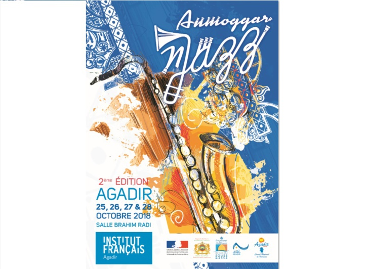 Agadir à l'heure du Festival de jazz Anmoggar