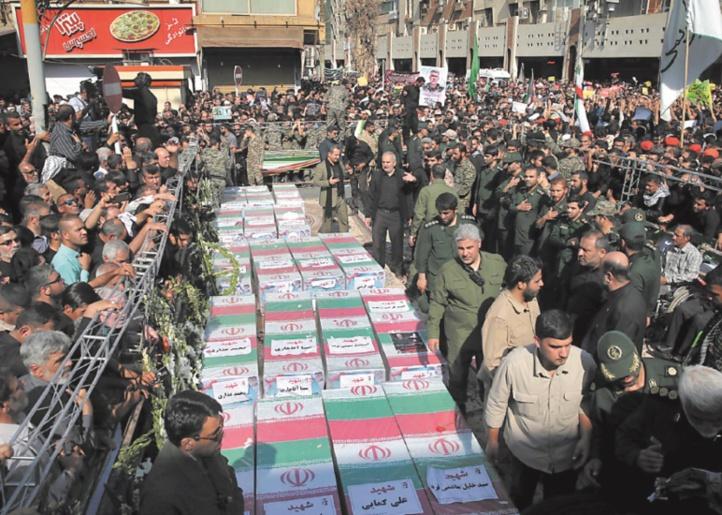 L'Iran frappe en Syrie des responsables de l'attaque d'Ahvaz