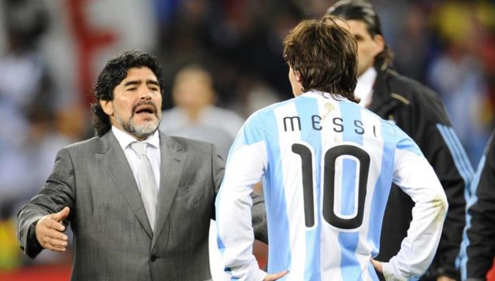Maradona conseille à Messi de renoncer à la sélection nationale