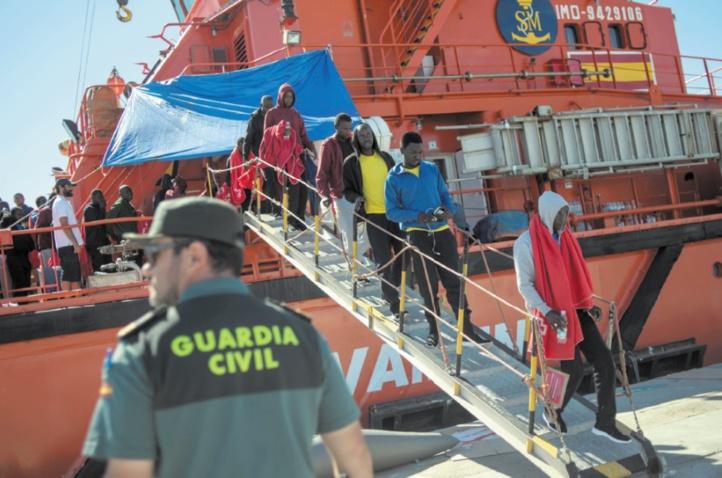 Près de 700 migrants secourus en deux jours au large de l'Espagne