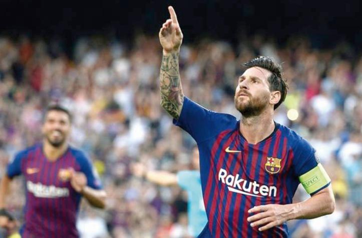 Capitaine Messi en reconquête à Wembley