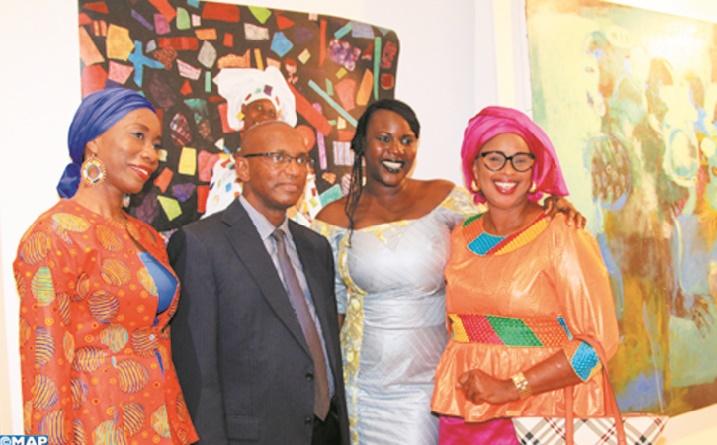"Vernissage de l'exposition ""Arkane Afrika"""