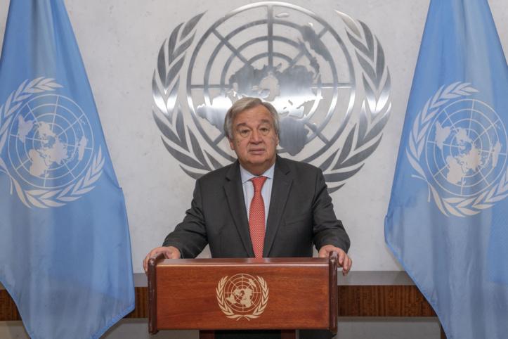 Antonio Guterres dénonce l'attitude obstructionniste du Polisario