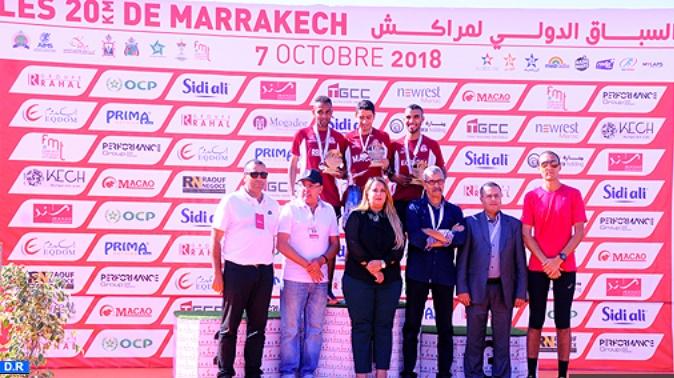 Courses internationales de Marrakech : Nette domination marocaine