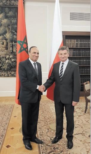 Habib El Malki : Les responsables polonais vouent respect et considération à S.M le Roi et au Maroc